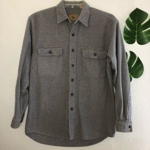 MOOSE CREEK Chamois Shirt Heavy Long Sleeve Medium